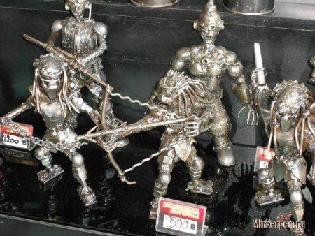 Шоппинг в Паттайе: Сувениры из железа