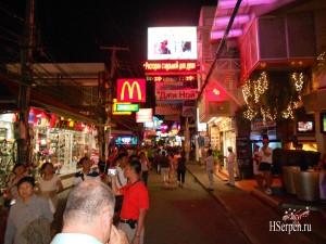 Walking street / Уокинг стрит, Паттайя, Таиланд