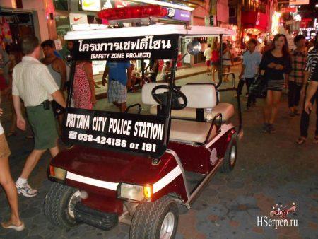 Туристическая полиция в Паттайе