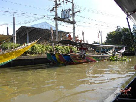 Плавучий рынок Damnoen Saduak, Бангкок