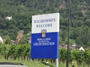 Посещение Княжества Лихтенштейн в июле 2013