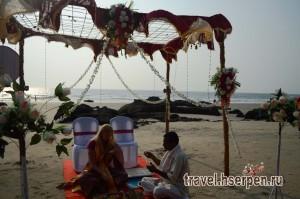 Свадьба на берегу Индийского океана