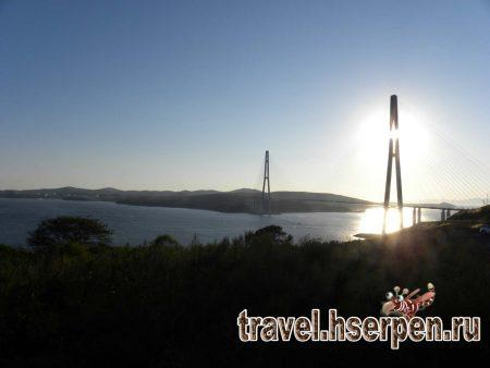 Фото дня: Мост на остров Русский, Владивосток