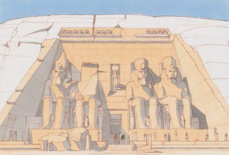 История строительства и спасения храмового комплекса в Абу-Симбеле