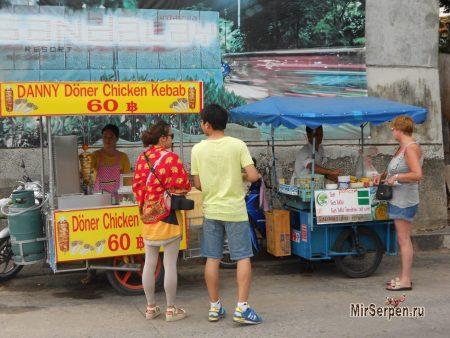 Где в Паттайе самые вкусные сладкие блинчики?