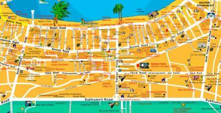 Как в Паттайе не заблудиться в трех улицах