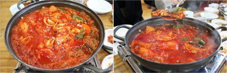 Острый суп из рыбы кальчхи