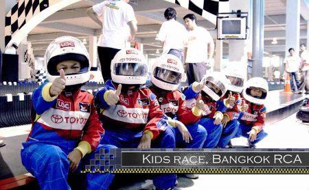 Крытый картинг трек в Бангкоке