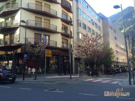 Andorra la Vella - столица княжества Андорра