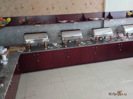 Еда в отеле VietSky 2*, Нячанг, Вьетнам