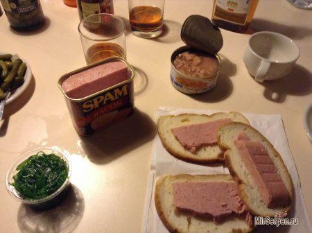 Знаменитые консервы SPAM