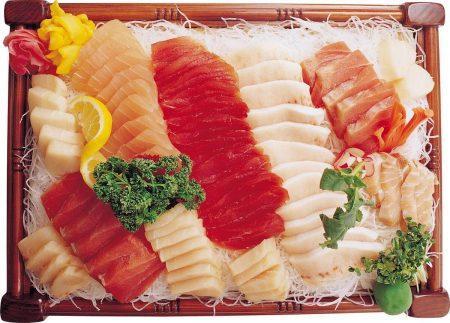 Сашими - естественный вкус рыбы
