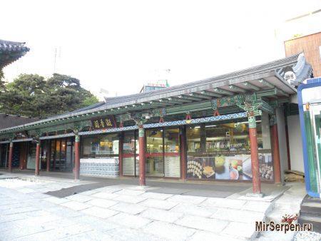 Храм Bongeunsa, Сеул, Южная Корея