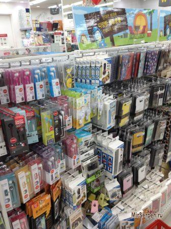 Магазины Daiso в Южной Корее