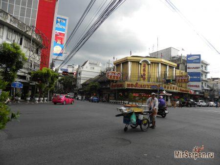 Стритфуд и гигиена в Бангкоке