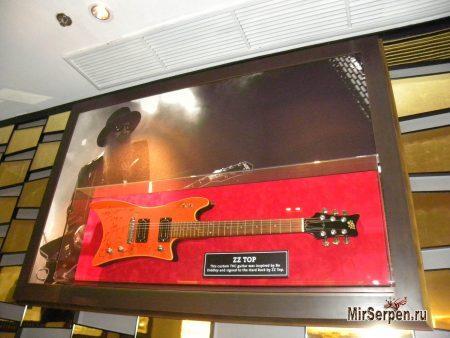 Музей в отеле Hard Rock в Паттайе