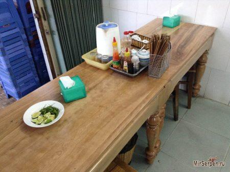 Вьетнамское правило ведерка под столом