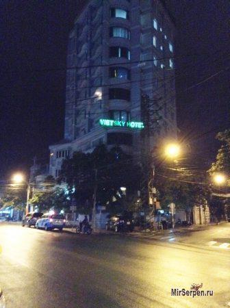 Вьетнамские отели: ночью все спят
