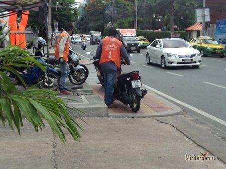 Верхом на мотобайке по Таиланду
