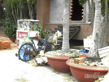 Сонная торговля во Вьетнаме
