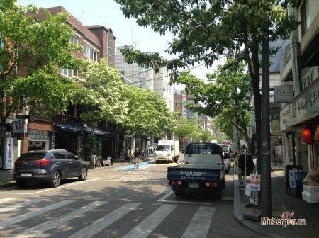 Чистота улиц Сеула