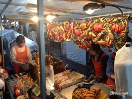 Знакомство с морской кухней в азиатских сифудах