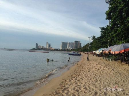 Пляжи города Паттайя