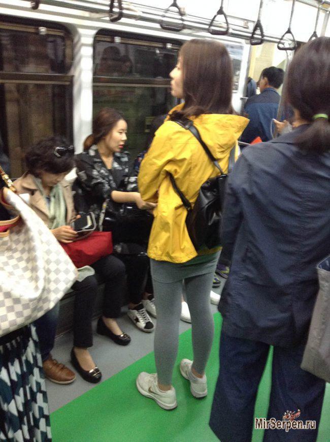 Как я троллил кореянок в метро Сеула