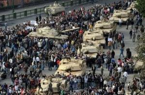 Отдых в Египте во время революции