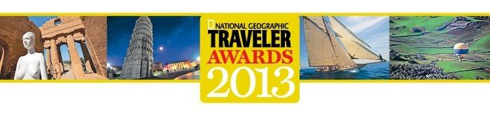 National Geographic Traveler Awards 2013
