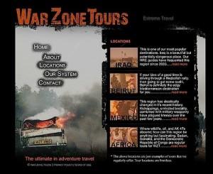 На передовой военного туризма