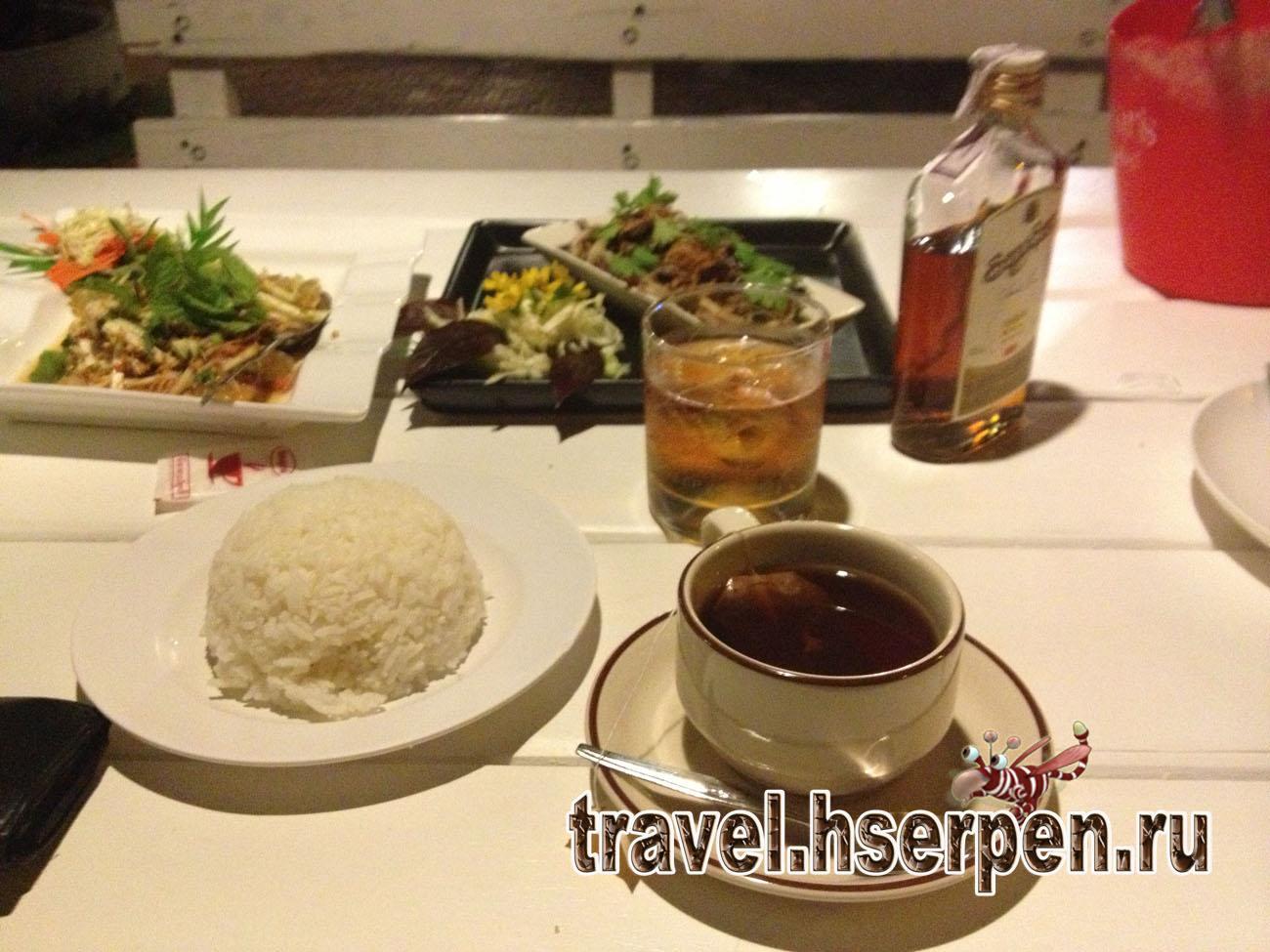 Как правильно есть блюда тайской кухни