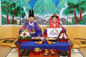 Корейские петухи для свадьбы