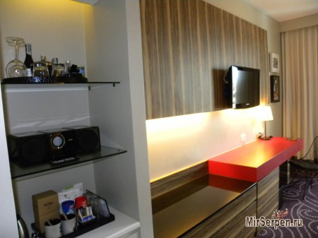 "Описание номеров тип ""DeLuxe sea view"" в отеле Hard Rock Hotel Pattaya 4*, Паттайя, Таиланд"
