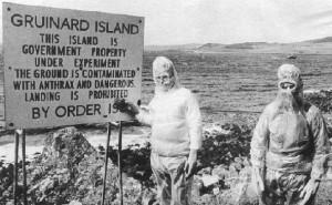 Грюинард - остров Сибирской язвы, Шотландия