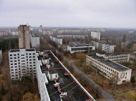 Зона отчуждения. Припять. Украина