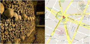Катакомбы в Париже, Франция