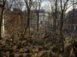Старое еврейское кладбище в Праге, Чехия