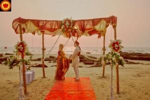 Свадебная церемония в Гоа, Индия