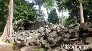 Храм Та Пром, Ангкор, провинция Сиемреап, Камбоджа