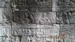 Храм Байон, Ангкор, провинция Сиемреап, Камбоджа