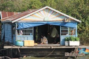 Озеро Тонлесап – жизнь на воде