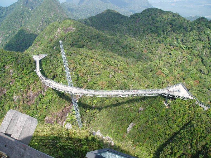 Уникальный мост Лангкави, Султанат Кедах, Малайзия