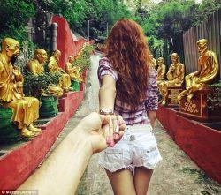 Я буду идти за тобой...