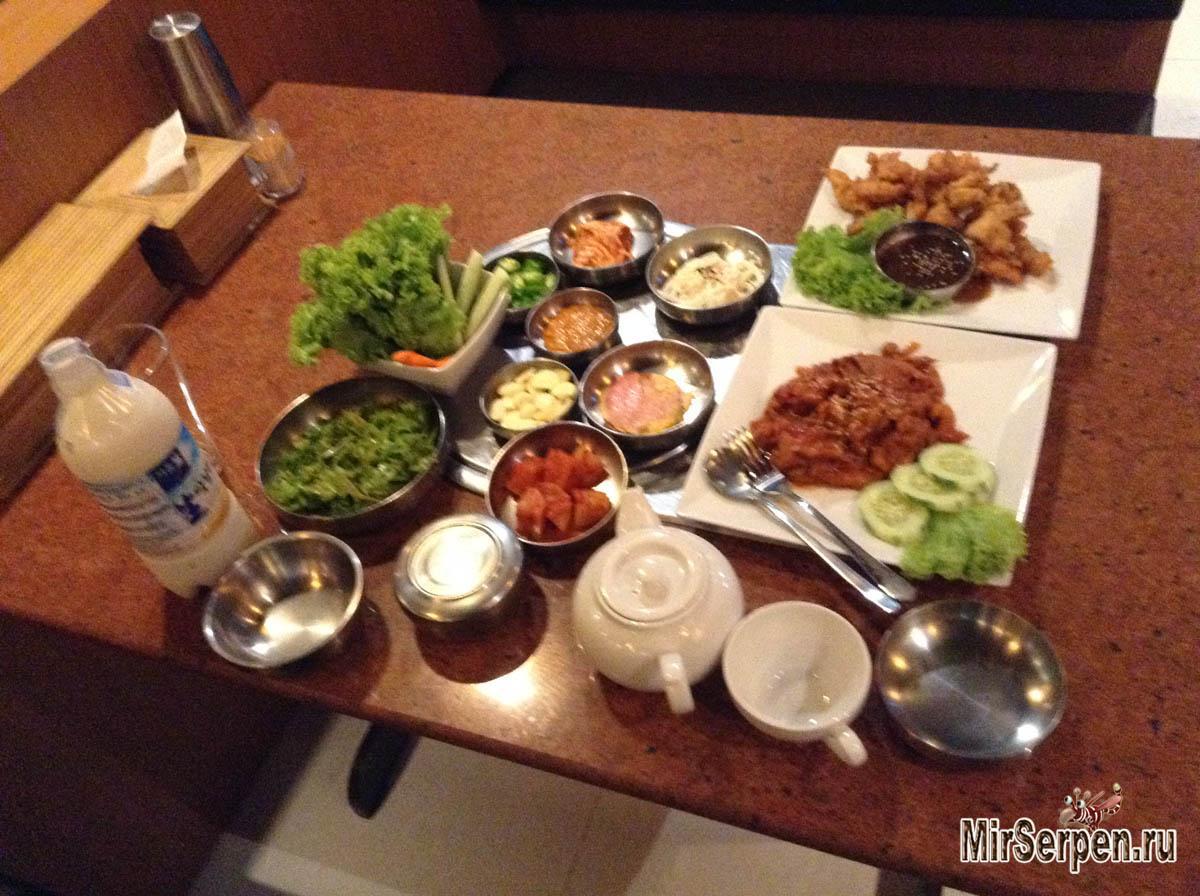 О скорости приготовления еды в южнокорейских кафе