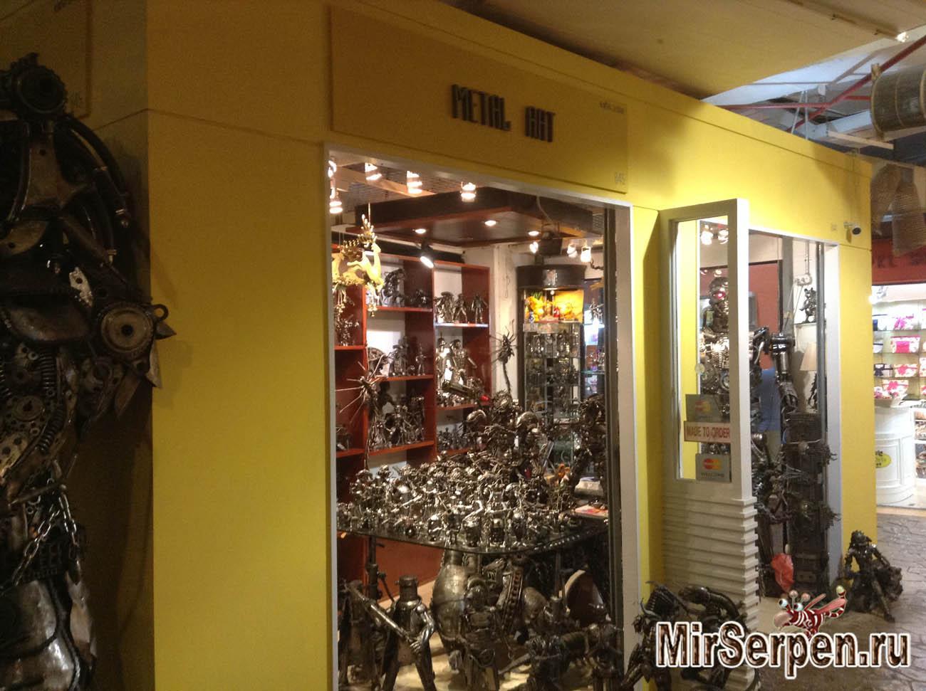 Шоппинг на острове Пхукет: Сувениры из железа