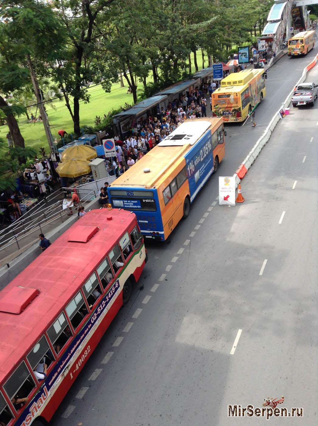 Комфортный стиль поездок по Бангкоку