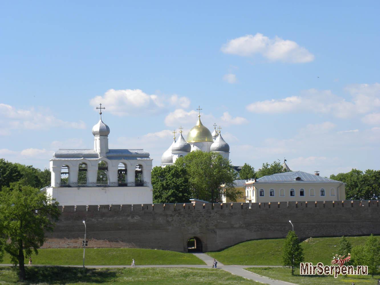Первое впечатление о Великом Новгороде, май 2014