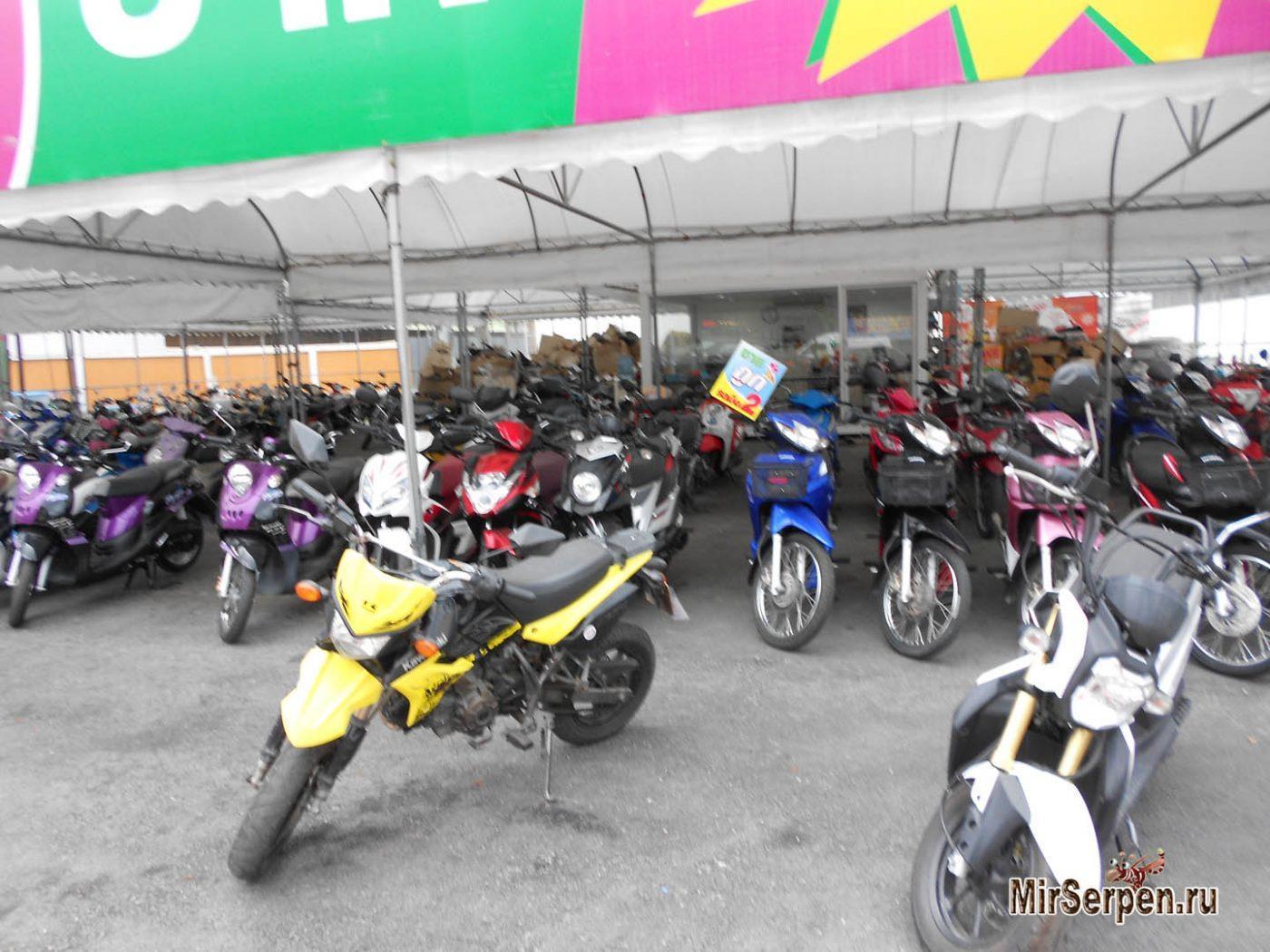 Вымогательство при аренде транспортных средств в Таиланде