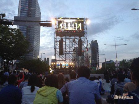 Фестивали, концерты и выставки в Южной Корее